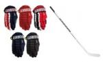 Výprodej rukavic a hokejky Warrior
