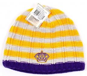 Zimní čepice CCM Vintage Uncuffed NHL Los Angeles Kings