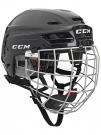 Hokejová helma CCM Resistance 100 Combo černá - vel. S