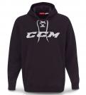 Mikina CCM Hockey Lace Hoody černá