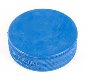 Hokejový puk modrý lehký