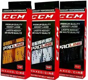 Hokejové tkaničky CCM Pro-Line voskované