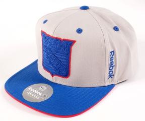 Kšiltovka REEBOK NHL Center Ice Snapback New York Rangers