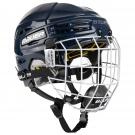 Hokejová helma BAUER Re-Akt 100 Combo Youth tmavě modrá