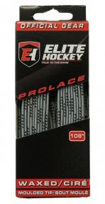 Hokejové tkaničky BLUE SPORTS Pro Lace voskované šedé