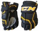 """Hokejové rukavice CCM Quicklite 270 LTD JR černo-žluté - vel. 12"""""""