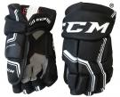 Hokejové rukavice CCM Quicklite 270 SR černo-bílé