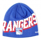 Zimní čepice REEBOK Face Off Beanie NHL New York Rangers