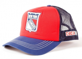 Kšiltovka CCM Vintage Trucker NHL New York Rangers