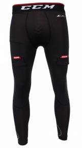 Hokejový suspenzor - Kalhoty CCM Compression Jock Pant JR