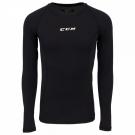 Ribano - triko s dlouhým rukávem CCM Performance Compression LS Shirt SR