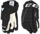 "Hokejové rukavice CCM Tacks 4R YTH černé - vel. 9"""