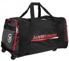 Hokejová taška na kolečkách WARRIOR Covert Roller Bag černo-červená