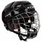 Hokejová helma CCM FitLite 3DS Combo Youth růžová