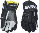Hokejové rukavice BAUER Supreme S170 JR černé