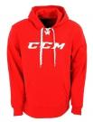 Mikina CCM Lace Hoody červená SR - vel. XL