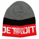 Zimní čepice REEBOK NHL Team Knit Beanie Detroit Red Wings