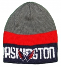 Zimní čepice REEBOK NHL Team Knit Beanie Washington Capitals