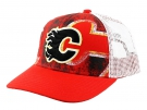 Kšiltovka REEBOK NHL Print Trucker Calgary Flames