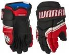 """Hokejové rukavice WARRIOR Covert QRE 3 SR černo-červené - vel. 14"""""""
