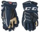 """Hokejové rukavice CCM JetSpeed FT 390 SR tmavě modré - vel. 14"""""""