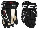Hokejové rukavice CCM JetSpeed FT1 YTH černé