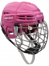 Hokejová helma BAUER IMS 5.0 Combo růžová