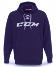 Mikina CCM Logo Hoody tmavě modrá SR