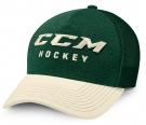 Kšiltovka CCM True2Hockey Trucker zelená