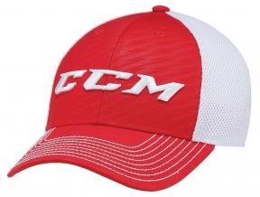 Kšiltovka CCM Team Mesh Flex červená