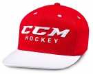 Kšiltovka CCM True2Hockey Snapback červená