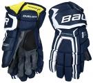 """Hokejové rukavice BAUER Supreme 1S SR tmavě modré - vel. 14"""""""