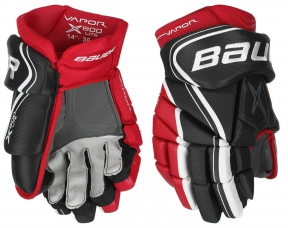 Hokejové rukavice BAUER Vapor X800 Lite JR černo-červené