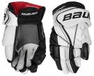 Hokejové rukavice BAUER Vapor X800 Lite JR bílo-černé