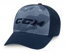 Kšiltovka CCM Camo Flex tmavě modrá