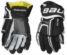 Hokejové rukavice BAUER Supreme S170 SR černo-bílé