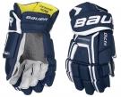 Hokejové rukavice BAUER Supreme S170 SR tmavě modré