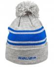 Zimní čepice Bauer Team Stripe modrá