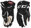 Hokejové rukavice CCM Tacks 9060 JR černo-bílé