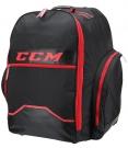 """Hokejová taška CCM 390 Wheeled Backpack 18"""" SR černá / červená"""