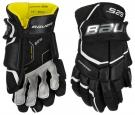 Hokejové rukavice BAUER Supreme S29 JR černo-bílé
