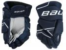 Hokejové rukavice BAUER NSX YTH tmavě modré