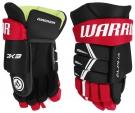 Hokejové rukavice WARRIOR Alpha DX3 YTH černo-červené