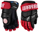 """Hokejové rukavice WARRIOR Covert QRE 4 SR černo-červené - vel. 14"""""""