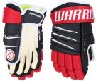 "Hokejové rukavice WARRIOR Alpha QX4 SR modro-červené - vel. 14"""