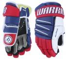"Hokejové rukavice WARRIOR Alpha QX3 SR modro-červené - vel. 13"""