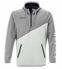 Mikina CCM 1/4 Zip Tech Fleece Light Grey - vel. M