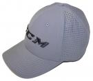 Kšiltovka CCM Perforated Flex šedá