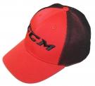 Kšiltovka CCM Foam Mesh červená