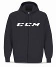 Dětská mikina na rozepínání CCM CVC JR černá